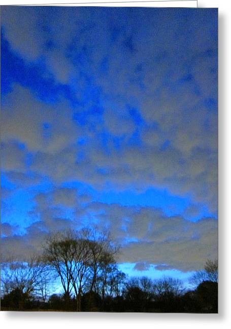 Guy Ricketts Photography Greeting Cards - What Dream Does The Morning Sky Say To Me? Greeting Card by Guy Ricketts