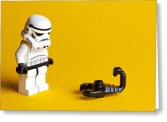 Lego Greeting Cards - What is it Greeting Card by Samuel Whitton