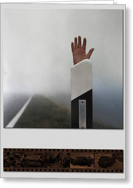 Post Disaster Greeting Cards - What is left Greeting Card by Horst Braun