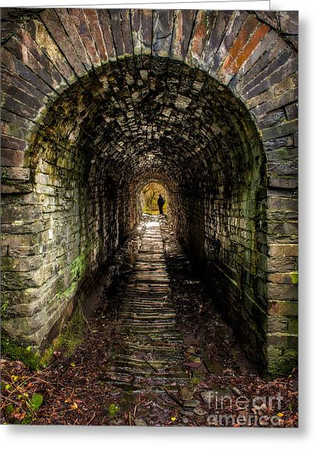 Abandoned Digital Art Greeting Cards - What Lies Ahead Greeting Card by Adrian Evans