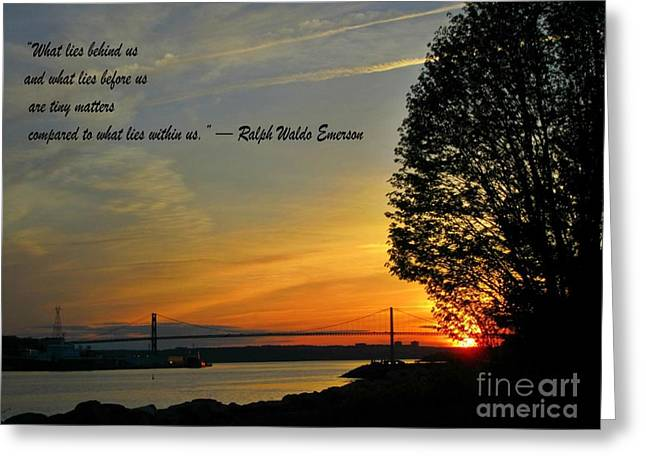 Halifax Photography Halifax Nova Scotia Greeting Cards - What Lies Within Greeting Card by Crystal Loppie