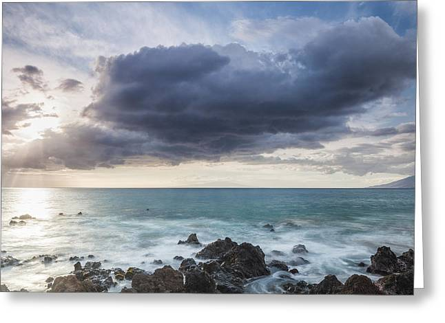 Acrylic Greeting Cards - What We See Greeting Card by Jon Glaser