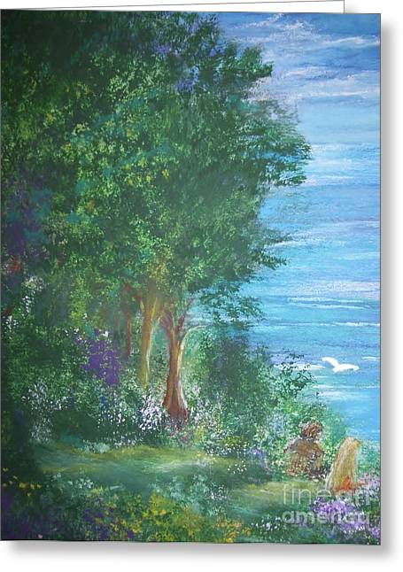 Fineart Pastels Greeting Cards - What Will Be Greeting Card by Tammy Rainey