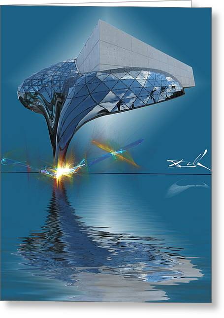 Dali Museum Greeting Cards - What Would Dali Do? Greeting Card by Gordon Engebretson