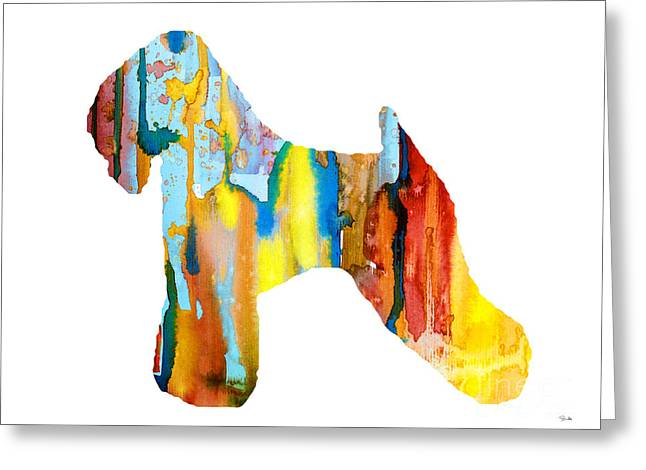 Wheaten Terrier 3 Greeting Card by Luke and Slavi