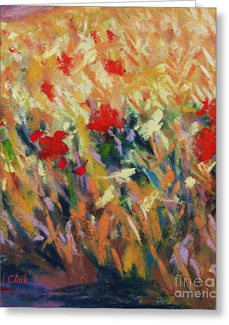 Colorful Pastels Greeting Cards - Wheatfield Greeting Card by John Clark
