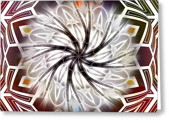 Home Decor Greeting Cards - Wheel of Eternity Greeting Card by Home Decor