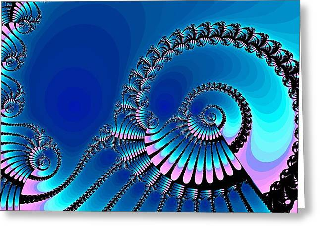 Wheel of Fortune Greeting Card by Anastasiya Malakhova