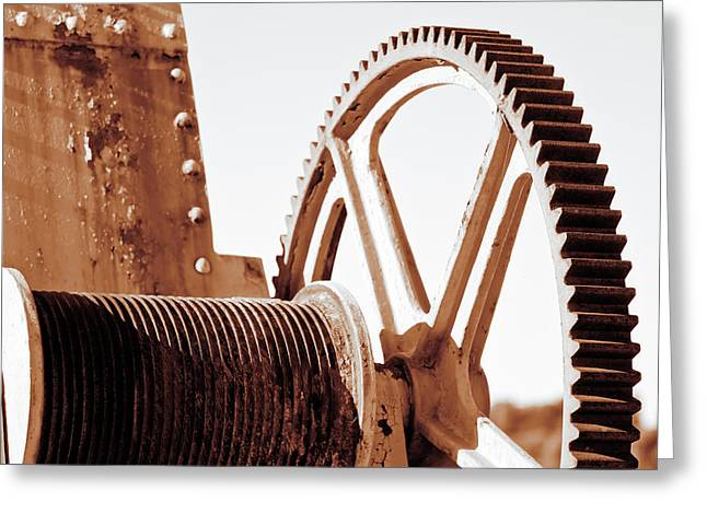 Mechanism Greeting Cards - Wheels  Greeting Card by GP Images