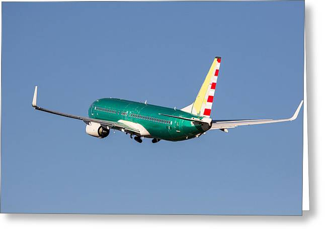 The Next Generation Greeting Cards - Wheels Up Greeting Card by John Ferrante
