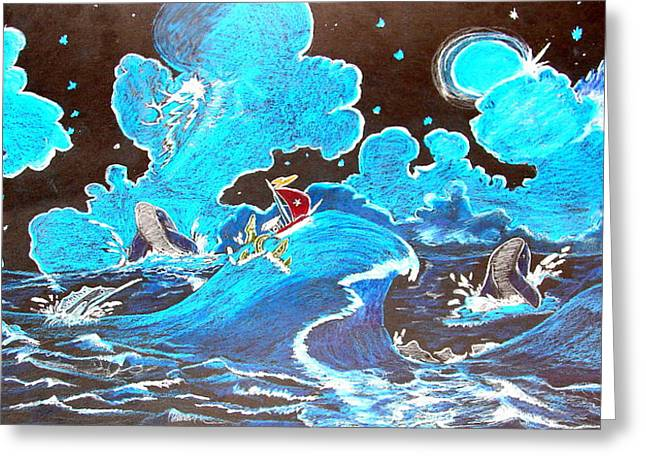 Swordfish Greeting Cards - When All Hope Is Lost/bernie And Joe Greeting Card by Joseph Hawkins