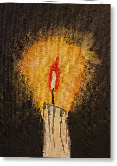 Keith Nichols Greeting Cards - When All Other Lights Have Failed Greeting Card by Keith Nichols