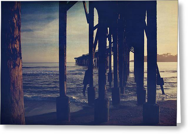 Pier Digital Greeting Cards - When Anything Seems Possible Greeting Card by Laurie Search