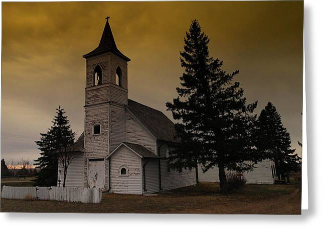 WHEN HEAVEN IS YOUR HOME Greeting Card by Jeff  Swan