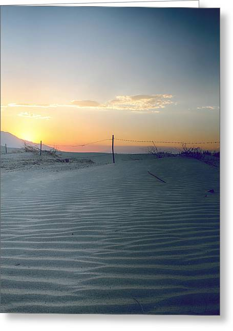 Desert Greeting Cards - When I Needed You Most Greeting Card by Laurie Search