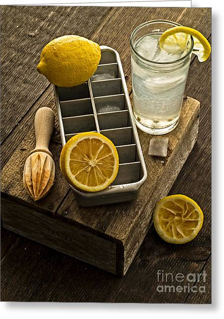 Give Greeting Cards - When Life Gives You Lemons... Greeting Card by Edward Fielding