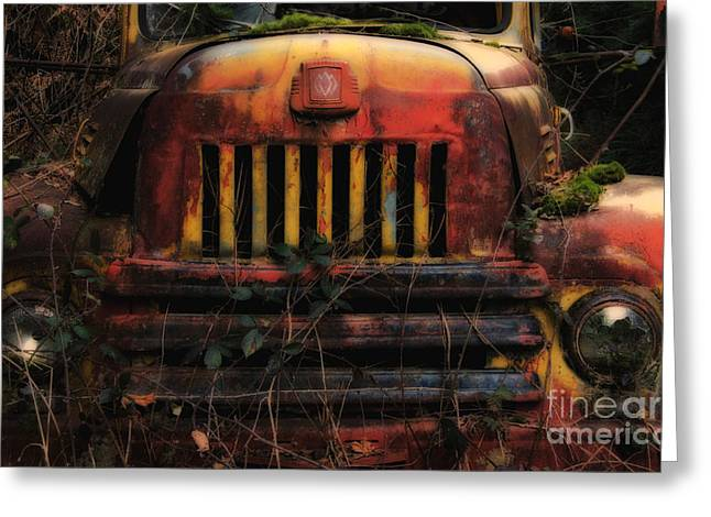 Overgrown Greeting Cards - When The Lights Go Out  Greeting Card by Bob Christopher