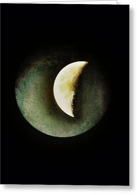 The Moons Greeting Cards - When The Moons Collide Greeting Card by Marianna Mills