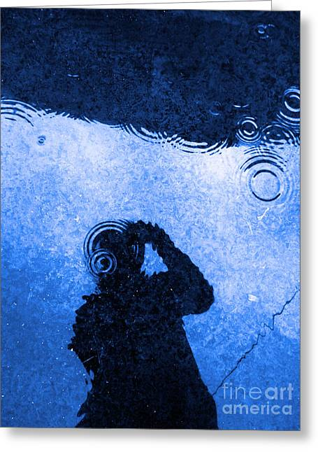 Office Space Digital Art Greeting Cards - When The Rain Comes Greeting Card by Robyn King