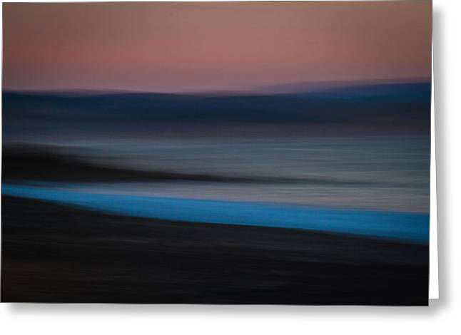 Impressionist Photography Greeting Cards - When the sea whispers her secrets Greeting Card by Constance Fein Harding