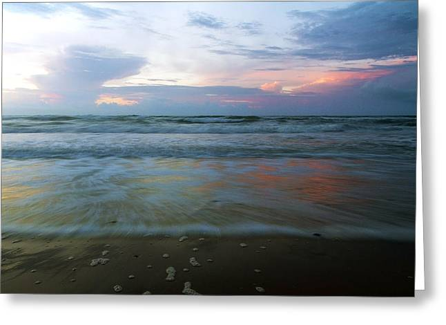 Topsail Island Greeting Cards - When Time Stood Still Greeting Card by Betsy C  Knapp