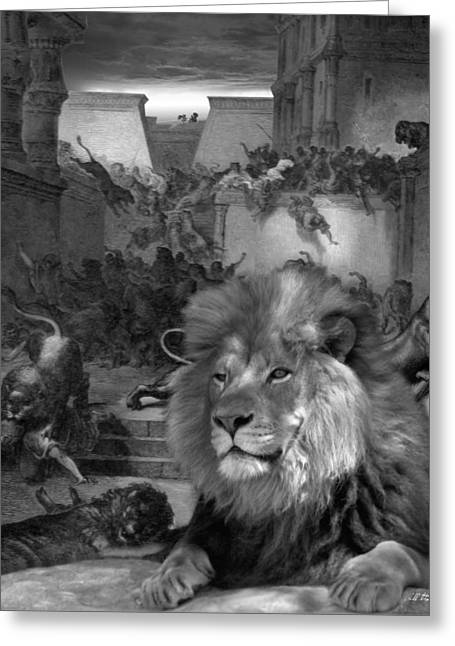 Bible Digital Art Greeting Cards - When We No Longer Listen Greeting Card by Bill Stephens