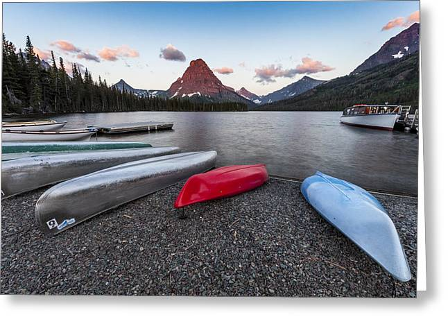 When we Row Greeting Card by Jon Glaser