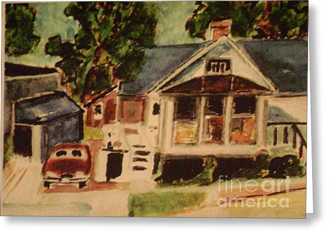 Abner Greeting Cards - where  Abner lives Greeting Card by Everett Hickam