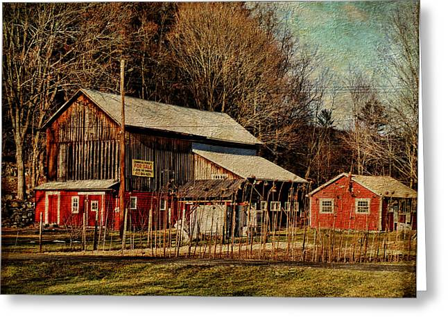 Farm Stand Greeting Cards - Where Has All the Food Gone Greeting Card by Pamela Phelps