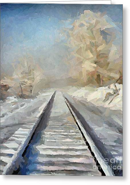 First Love Greeting Cards - Where Is The Train Greeting Card by Dragica  Micki Fortuna