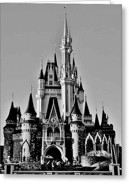 Cinderellas Castle Greeting Cards - Where Magic Happens Greeting Card by Benjamin Yeager