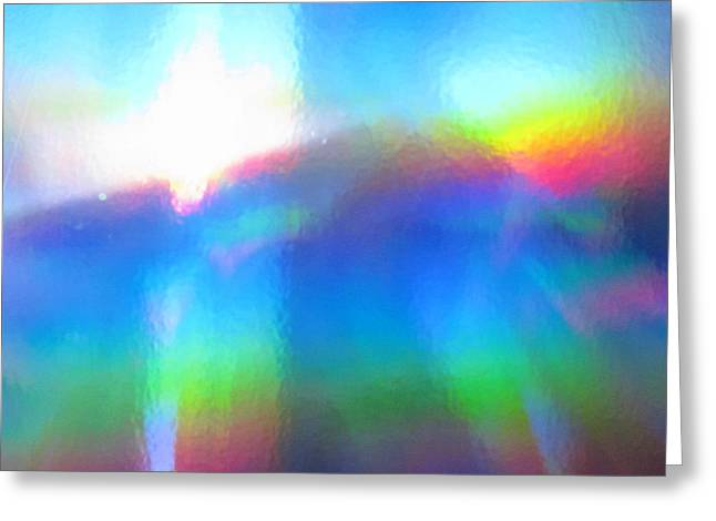 Dwell Greeting Cards - Where Rainbows Dwell Greeting Card by Jessica-Faye Watters