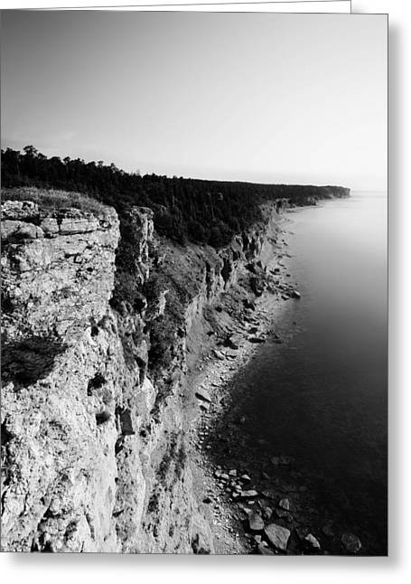 Sea View Greeting Cards - Where sea meets land Greeting Card by Nicklas Gustafsson
