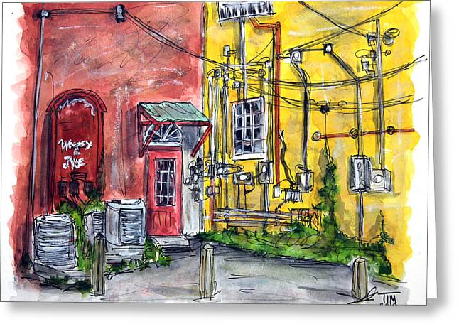 Which Wire Goes Where? Greeting Card by Tim Ross