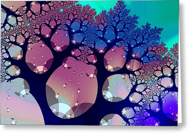 Meditation Greeting Cards - Whimsical Forest Greeting Card by Anastasiya Malakhova