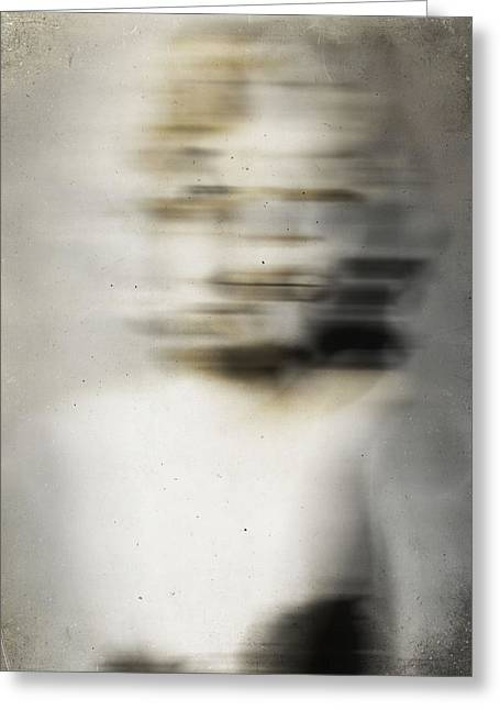 Mix Medium Photographs Greeting Cards - Whisper on The Neck  Greeting Card by Jerry Cordeiro