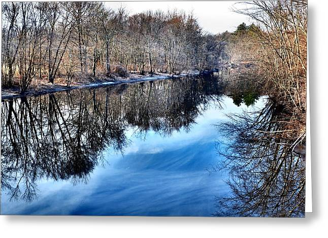 Concord Ma. Greeting Cards - Whispered Reflections Greeting Card by Andrew Weiner