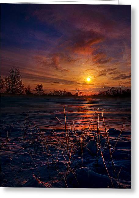 Geographic Greeting Cards - Whispered Secrets Greeting Card by Phil Koch