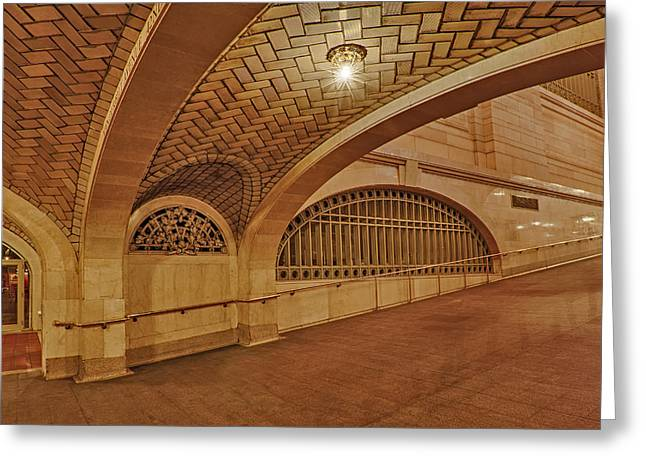 Concourse Greeting Cards - Whispering Gallery Greeting Card by Susan Candelario