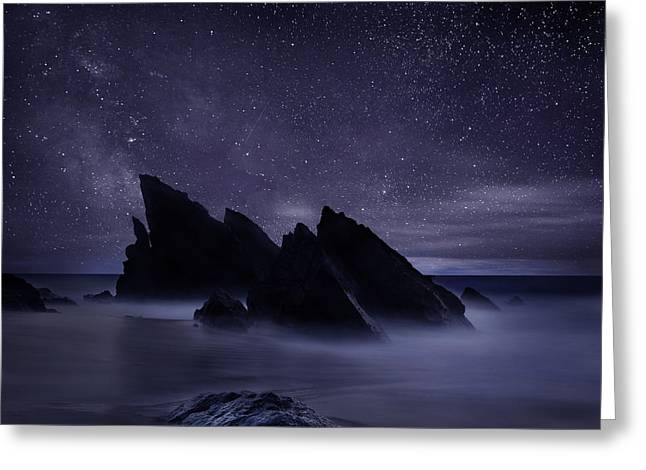 Ocean Moods Greeting Cards - Whispers of eternity Greeting Card by Jorge Maia