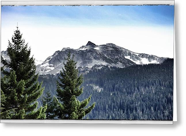 Whistler Mountain Greeting Card by Jim Nelson