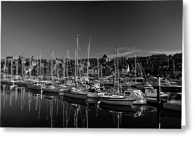 Whitby Greeting Cards - Whitby Harbor Greeting Card by Mountain Dreams