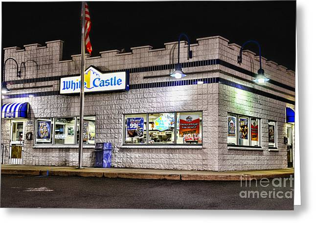 Slider Greeting Cards - White Castle 2 Greeting Card by Paul Ward
