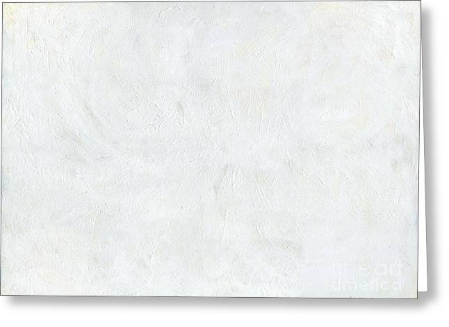 White Color of Energy Greeting Card by Ania Milo