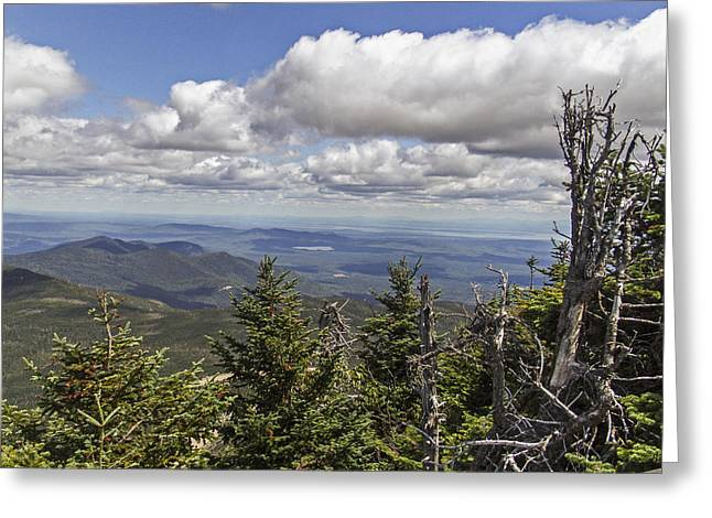 White Face Mountain Greeting Cards - White Face Views Greeting Card by Eric Swan