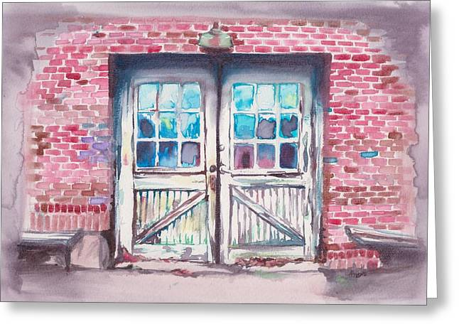 Mebane North Carolina Greeting Cards - White Furniture Company Greeting Card by Alicia Tanner