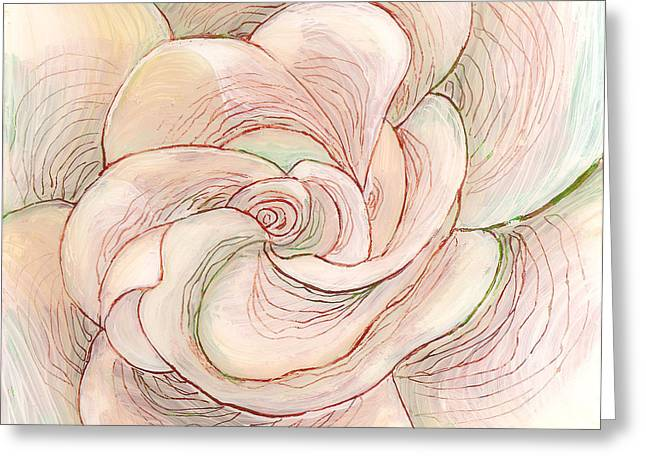 White Gardenia 1 Greeting Card by Anna Skaradzinska