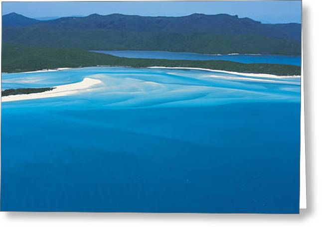 Faint Greeting Cards - White Heaven Beach Great Barrier Reef Greeting Card by Panoramic Images
