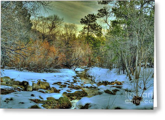 Prescott Digital Greeting Cards - White Icing Greeting Card by K D Graves