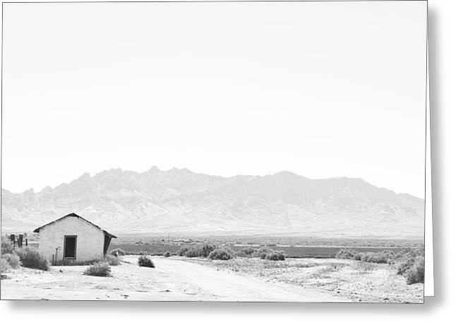 Decor Photography Greeting Cards - White Out Greeting Card by Nathan Larson